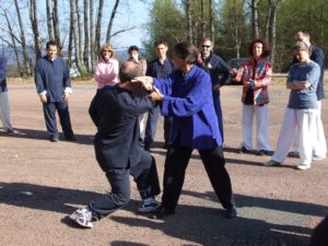 Stage taichi Morvan avril 2006